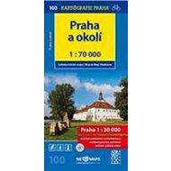 Praha a okolí 1:70 000: Cyklomapa č. 100 - Kniha