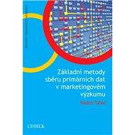 Základní metody sběru primárních dat v marketingovém výzkumu - Kniha