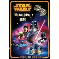STAR WARS Tři, dva, jedna, LEP!: Více než 220 samolepek - Kniha