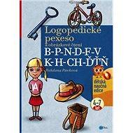 Logopedické pexeso B-P-N-D-F-V-K-H-CH-ĎŤŇ: a obrázkové čtení 4-7 let