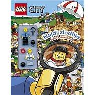 LEGO CITY Najdi zloděje: Staň se detektivem - Kniha