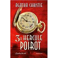 3x Hercule Poirot - Kniha
