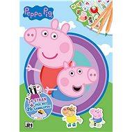 Peppa Pig cvičebnice - Kniha