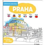 Antistresové omalovánky Praha - Kniha