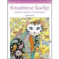Kreativní kočky: Vybarvujte, relaxujte a potěšte dárkem - Kniha