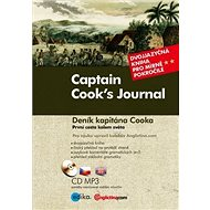 Captain Cook's Journal Deník kapitána Cooka: Dvojjazyčná kniha pro mírně pokročilé + CD mp3 - Kniha