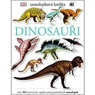 Samolepková knížka Dinosauři - Kniha