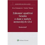 Zákonné opatření Senátu o dani z nabytí nemovitých věcí: Komentář - Kniha