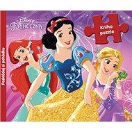 Princezny kniha s puzzle - Kniha