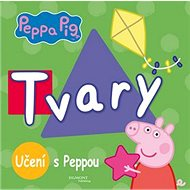 Peppa Pig Učení s Peppou Tvary - Kniha