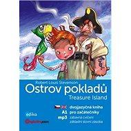 Ostrov pokladů A1 Treasure Island: dvojjazyčná kniha pro začátečníky + mp3 - Kniha