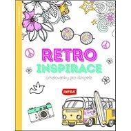 Retro inspirace Omalovánky pro dospělé - Kniha