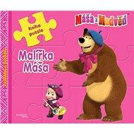 Máša a medvěd Malířka Máša: Kniha puzzle