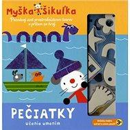 Myška Šikuľka Pečiatky: Poznávaj svet prostredníctvom tvarov a pritom sa hraj - Kniha