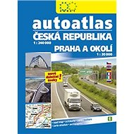 Autoatlas ČR + Praha 1:240 000 - Kniha