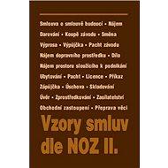Vzory smluv dle NOZ II. - Kniha