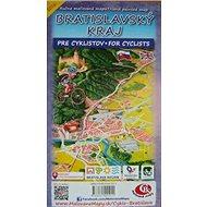 Bratislavský kraj: Ručne maľovaná mapa pre cyklistov Hand painted map for cyclists - Kniha