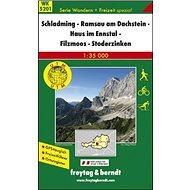 5201 Schladming, Ramsau am Dachstein 1:35 000: Turistická mapa - Kniha