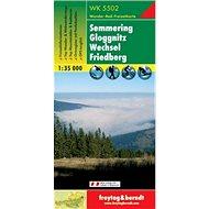 5502 Semmering Gloggnitz 1:35 000 - Kniha