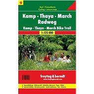 Cyklomapa Kamp-Thaya-March Radweg 1:125 000 - Kniha