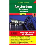 Plán města Amsterdam 1:10 000: Kapesní lamino