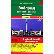 Plán města Budapešť 1:10 000: Kapesní lamino - Kniha