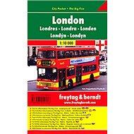 Plán města Londýn 1:10 000: Kapesní lamino - Kniha