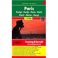 Plán města Paříž 1:10 000: Kapesní lamino - Kniha