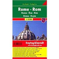Plán města Řím 1:10 000: Kapesní lamino - Kniha