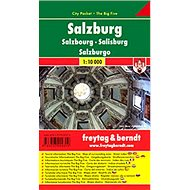 Plán města Salzburg 1:10 000: Kapesní lamino