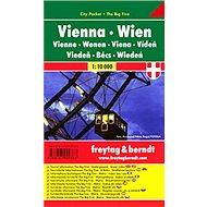 Plán města Vídeň 1:10 000: Kapesní lamino - Kniha
