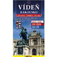 Plán města Vídeň + Rakousko 1:16 000/1:500 000 - Kniha