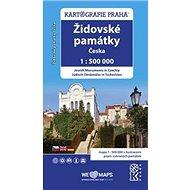 Židovské památky Česka: 1:500 000 - Kniha