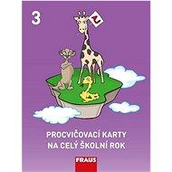 Procvičovací karty na celý školní rok 3: Angličtina - Kniha