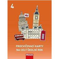 Kniha Procvičovací karty na celý školní rok 4: Angličtina - Kniha
