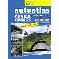Autoatlas ČR 1:240 000 + Evropa 1:4 000 000 - Kniha