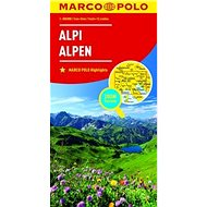 Kniha Alpy Alpi Alpen 1:800 000 - Kniha