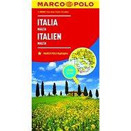 Itálie Italia Italien 1:800 000 - Kniha