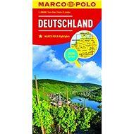 Kniha Německo Deutschland 1:800 000 - Kniha