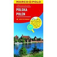 Polsko Polska Polen 1:800 000 - Kniha