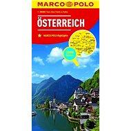 Rakousko Österreich 1:300 000 - Kniha