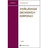 Zveřejňování obchodních korporací - Kniha
