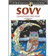 Sovy omalovánky pro velké: Creative Haven - Kniha