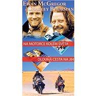 Balíček 2ks Na motorce kolem světa + Dlouhá cesta na jih - Kniha