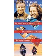 Balíček 3ks Na motorce kolem světa + Dlouhá cesta na jih + Závod do Dakaru - Kniha