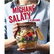 Míchané saláty ve sklenici - Kniha