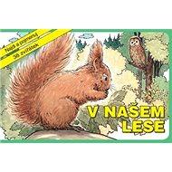 V našem lese: Najdi a pojmenuj 38 zvířátek - Kniha