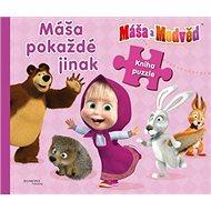 Máša a Medvěd Máša pokaždé jinak: Kniha puzzle - Kniha