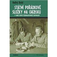 Státní pořádkové složky na Chebsku: v době první Československé republiky