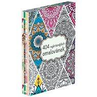 404 nejkrásnějších omalovánek BOX - Kniha